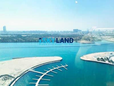 فلیٹ 2 غرفة نوم للايجار في جزيرة الريم، أبوظبي - Fully Furnished 2BR w/ Full Lake Views ! Big Balcony!