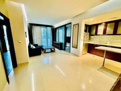 فلیٹ 1 غرفة نوم للايجار في الخليج التجاري، دبي - Partial Canal View |1Bed+Balcony | Middle Unit