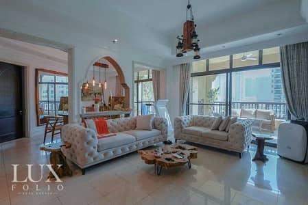 شقة 3 غرف نوم للبيع في المدينة القديمة، دبي - Exclusive 2 Large Terraces Duplex Burj View