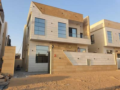 5 Bedroom Villa for Sale in Al Yasmeen, Ajman - For sale a villa directly from the owner and without down payment on a neighbor street, with a monthly premium of 6000 dirhams
