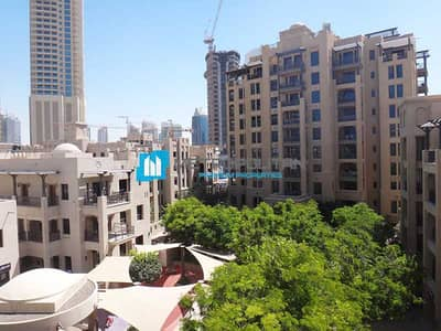 1 Bedroom Flat for Sale in Old Town, Dubai - Spacious and Bright| Well Maintained| Garden View