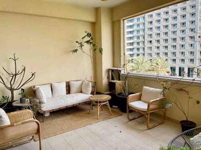 شقة 2 غرفة نوم للايجار في نخلة جميرا، دبي - Sea View   Furnished   Large flat
