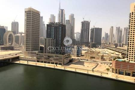فلیٹ 1 غرفة نوم للبيع في الخليج التجاري، دبي - Canal View | For Urgent Sale | Best Price