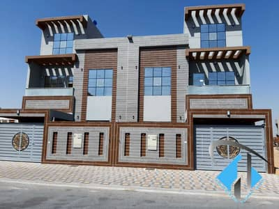 5 Bedroom Villa for Sale in Al Yasmeen, Ajman - Villa for sale, three floors, wonderful, distinctive and attractive finishing, freehold for all nationalities, with the possibility of bank financing