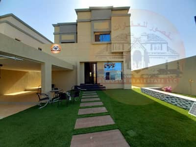 4 Bedroom Villa for Sale in Al Zahya, Ajman - Villa modern design and personal finishing, freehold for all nationalities, at an excellent price.