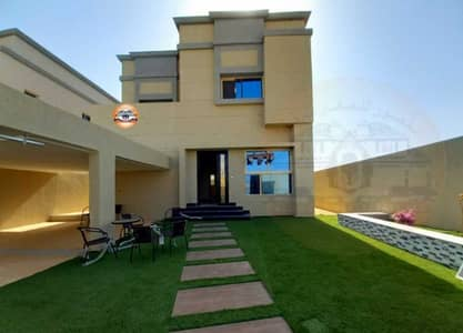 4 Bedroom Villa for Sale in Al Zahya, Ajman - Extraordinary design villa without down payment and with 25 years bank installments
