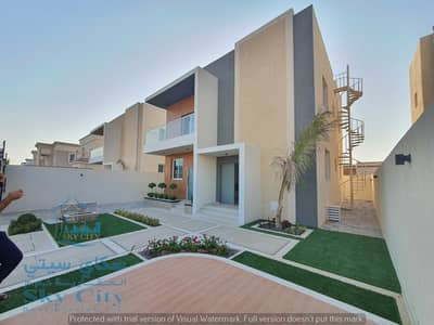 4 Bedroom Villa for Sale in Al Zahya, Ajman - For sale villa directly on asphalt street special location Right in front of a mosque Direct entrance from Sheikh Mohammed bin Zayed Street The villa