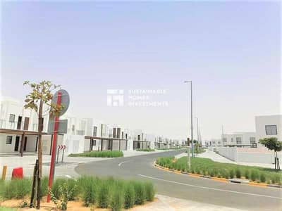 شقة 2 غرفة نوم للايجار في الغدیر، أبوظبي - شقة في الغدير المرحلة الثانية الغدیر 2 غرف 55000 درهم - 5469314