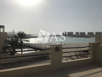 4 Bedroom Villa for Rent in Al Hamra Village, Ras Al Khaimah - Only TH with direct beach access 4 beds+maid Big Garden