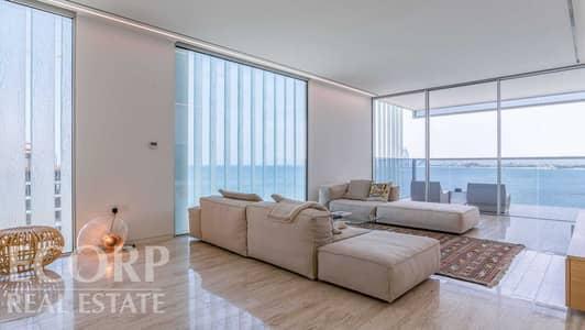 فلیٹ 3 غرف نوم للايجار في نخلة جميرا، دبي - Vibrant Sea Views | Bright & Refined | Maid's Room