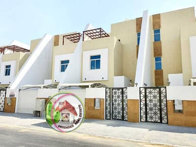4 Bedroom Villa for Sale in Al Zahya, Ajman - Villa for sale at a very special price, luxurious finishing, and a very special location, freehold for all nationalities