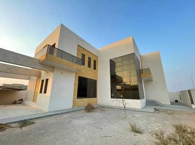 6 Bedroom Villa for Rent in Al Raqaib, Ajman - LAVISH BRAND NEW EUROPEN STYLE VILLA FOR LEASE IN AJMAN FOR 130,000 YEALRY