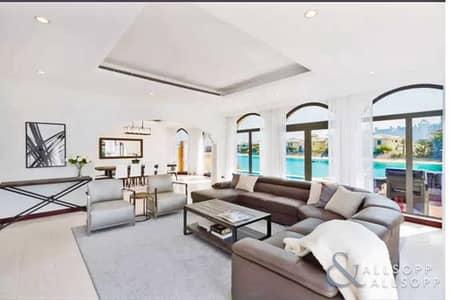 فیلا 4 غرف نوم للايجار في نخلة جميرا، دبي - Genuine Listing | All Bills Inc. | Furnished