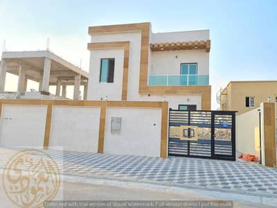 3 Bedroom Villa for Sale in Al Zahya, Ajman - Villa for sale in a prime location close to the mosque, Al Zahia area, super dulux finishing, freehold for life for all nationalities, the villa is ce