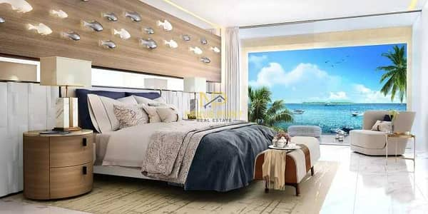 Studio for Sale in The World Islands, Dubai - Desirable and Adorable Full Sea View I Furnished