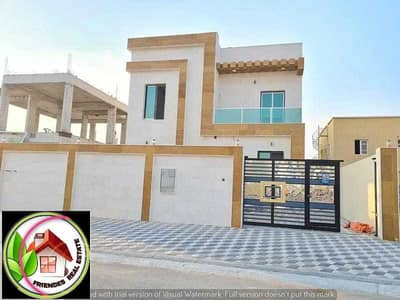 4 Bedroom Villa for Sale in Al Zahya, Ajman - Villa for sale in a prime location close to the mosque, Al Zahia area, super dulux finishing, freehold for life for all nationalities, the villa is ce