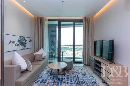 فلیٹ 1 غرفة نوم للايجار في جميرا بيتش ريزيدنس، دبي - Serviced | Fully Furnished | Vacant