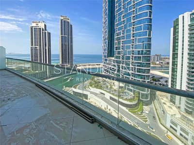 3 Bedroom Apartment for Sale in Dubai Marina, Dubai - 3 Bedroom Duplex   Sea Views   Vacant Now