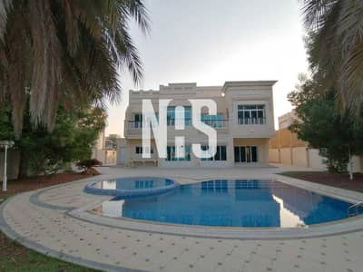 فیلا 4 غرف نوم للايجار في قرية مارينا، أبوظبي - فيلا فريدة وفاخرة مع مسبح خاص على البحر مباشرة .