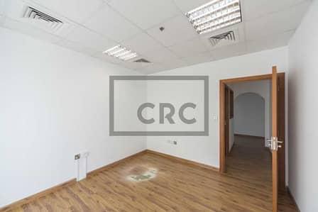 مکتب  للايجار في برشا هايتس (تيكوم)، دبي - Fully Fitted   Partitioned   Wooden Flooring