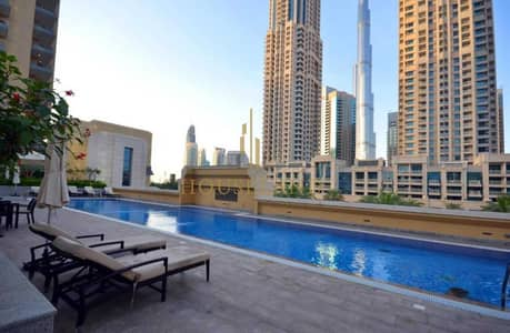 1 Bedroom Flat for Rent in Downtown Dubai, Dubai - Well Maintained I Chiller Free I 1 Bed with Breathtaking View