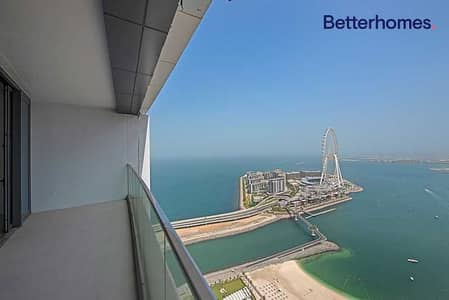 2 Bedroom Flat for Sale in Jumeirah Beach Residence (JBR), Dubai - High floor  Full Sea View I Unfurnished