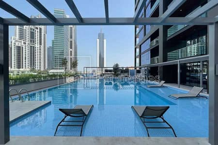 Studio for Sale in Downtown Dubai, Dubai - Elegent with Balcony