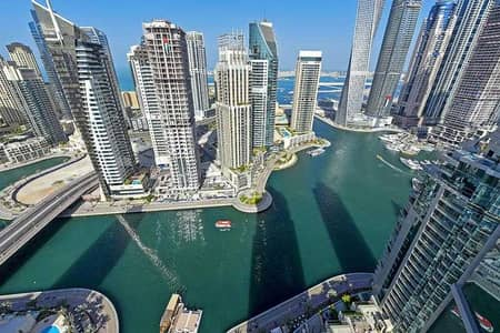 فلیٹ 2 غرفة نوم للبيع في دبي مارينا، دبي - Smart Home | Fully Upgraded | Panoramic Marina View