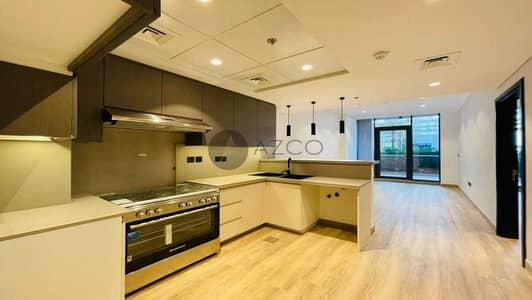 شقة 1 غرفة نوم للايجار في قرية جميرا الدائرية، دبي - وسائل الراحة الحديثة | تصميم رائع | أطلالة على بركة السباحة