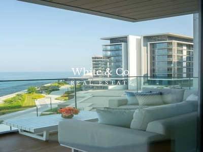 شقة 4 غرف نوم للايجار في جزيرة بلوواترز، دبي - Luxurious | Fully Furnished | Full Sea View