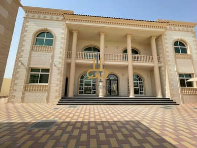 8 Bedroom Villa for Rent in Shakhbout City (Khalifa City B), Abu Dhabi - Superb Brand-New 8 Master BR Villa / High-End Finishing / Huge Yard / Ready to Move In