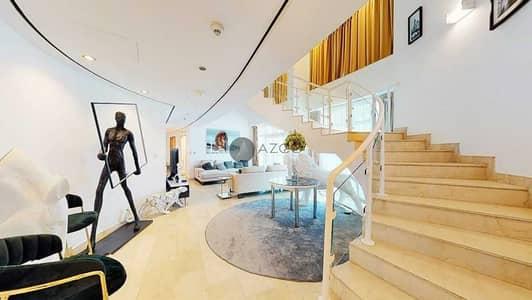 4 Bedroom Apartment for Rent in Dubai Marina, Dubai - Extravagant Living| Fancy Furniture| Stunning View