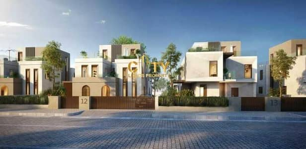Villa Compound for Sale in Shakhbout City (Khalifa City B), Abu Dhabi - 3 Villas | 7BR Each Villa | High-End Finish