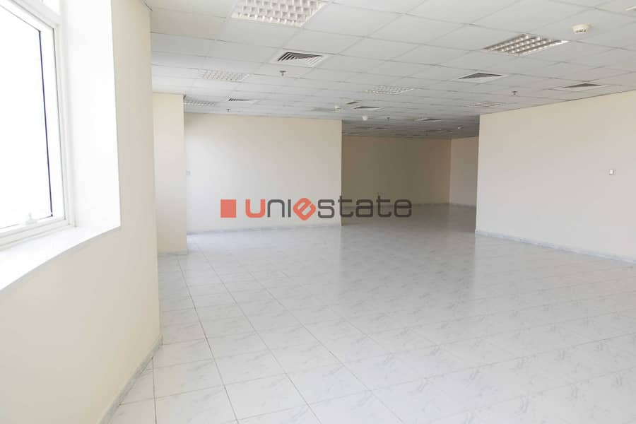 Huge Office Space in RAK Tower with balcony