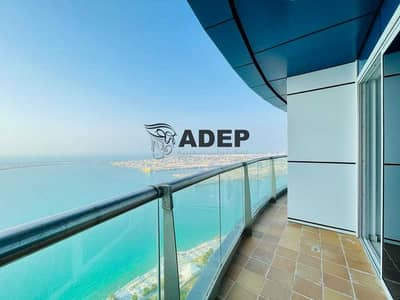 """3 Bedroom Flat for Rent in Corniche Area, Abu Dhabi - """"Full Seaview"""" 3 Master BR APT With All Facilities"""