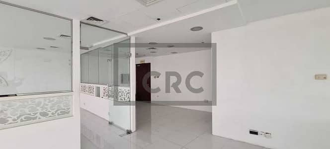 مکتب  للايجار في ديرة، دبي - Fitted Office | Al Maktoum St - Diera | High Floor