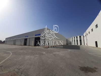 مستودع  للايجار في المفرق المنطقة الصناعية، أبوظبي - BRAND NEW WAREHOUSE COMPOUND FOR RENT