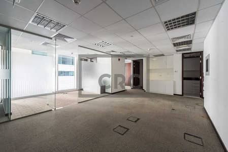 Office for Rent in Sheikh Zayed Road, Dubai - Fitted I Partitions I Balcony I 6 Cabins