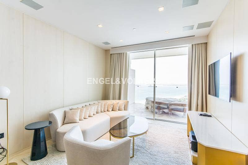 Best deal largest layout 1BR in Viceroy with Sea view!