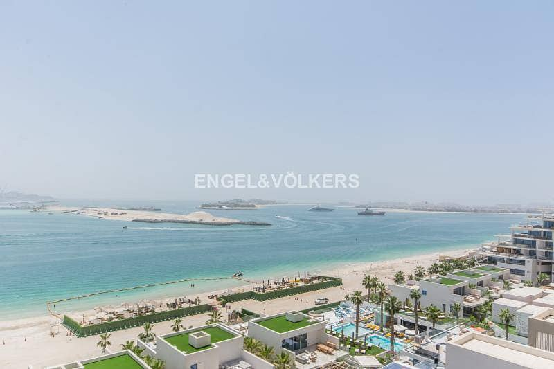 10 Best deal largest layout 1BR in Viceroy with Sea view!