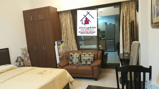 Fully Furnished Studio for Rent in Elite-8, Sports City