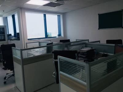 Office for Rent in Al Rashidiya, Ajman - OFFICES FOR RENT IN FALCON TOWERS 1146 SQ. FT.  AED 24000 4 CHEQUES