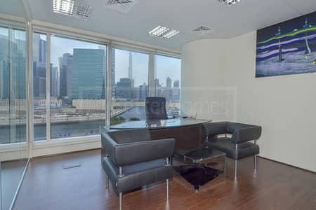 Amazing Office Space Burj Khalifa & Canal View