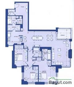 Upper North Block 3 Bedroom Suite 3