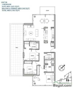 3 Bedroom Apt