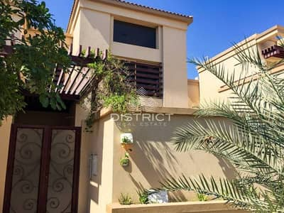 5 Bedroom Villa for Sale in Al Raha Golf Gardens, Abu Dhabi - 5BR Villa with Private Pool in Golf Gardens