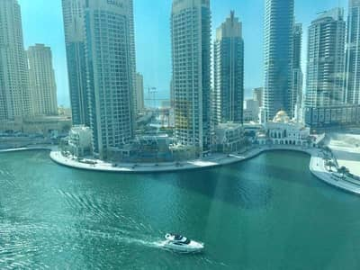 3 Bedroom Apartment for Rent in Dubai Marina, Dubai - F.F Marina View Pay 12 Chqs Included Bill
