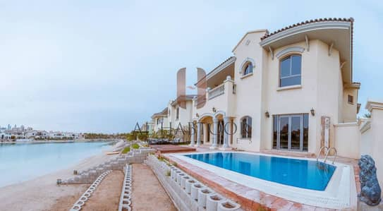 Luxury Furnished 4BR Med Grand Foyer Villa in Palm Jumeirah