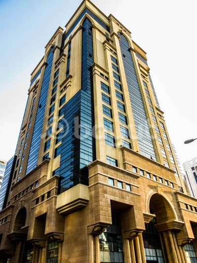 Half floor with Glass and Spacious Partition commercial offices in Khalidiya