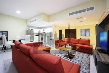3 Bedroom Townhouse for Rent in Dubai Marina, Dubai - Exclusively listed furnished townhouse with private pool